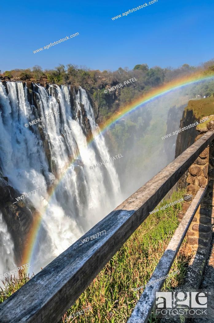 Stock Photo: Victoria Falls, Africa.