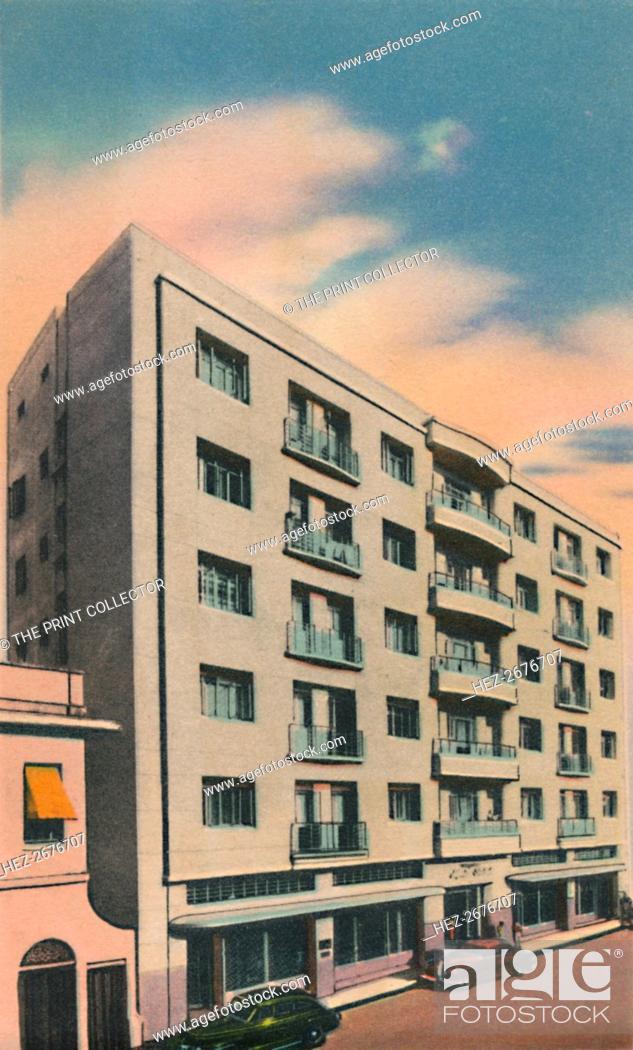 Stock Photo: 'Alfredo Steckerl Building, Barranquilla', c1940s. Artist: Unknown.