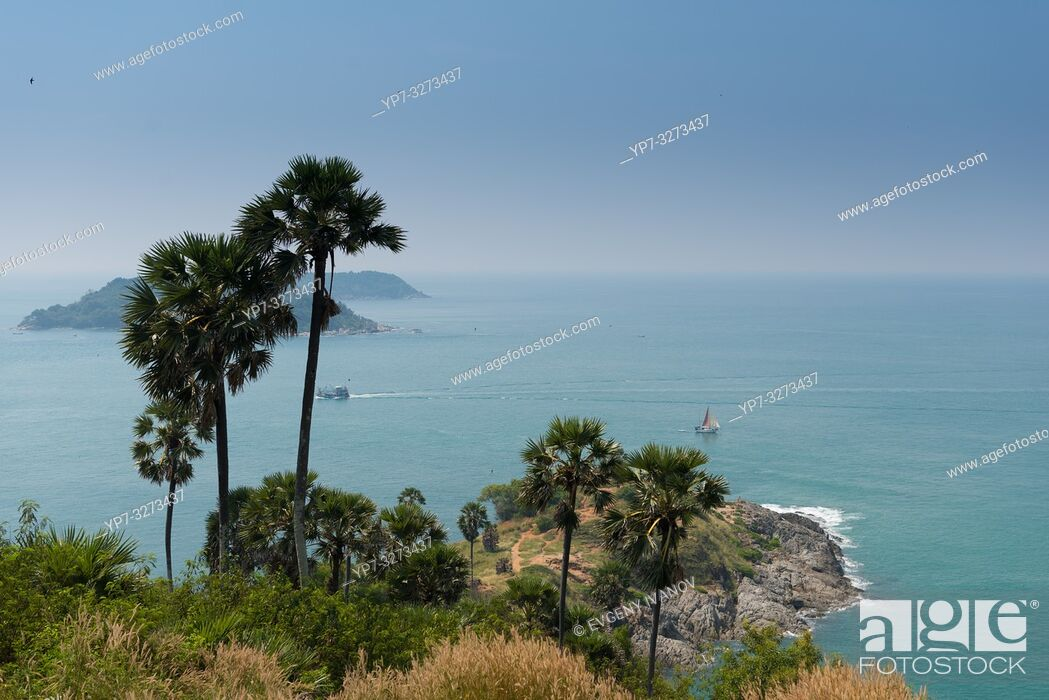 Stock Photo: Promthep Cape, Phuket, Thailand.