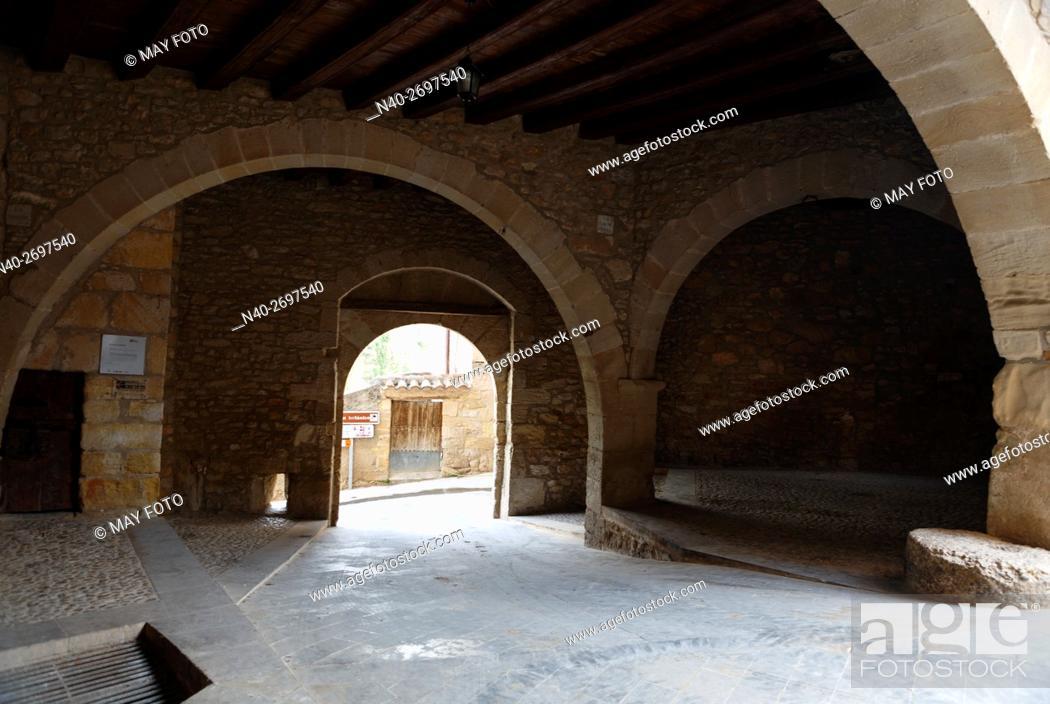 Stock Photo: Ráfales, Teruel, Spain.