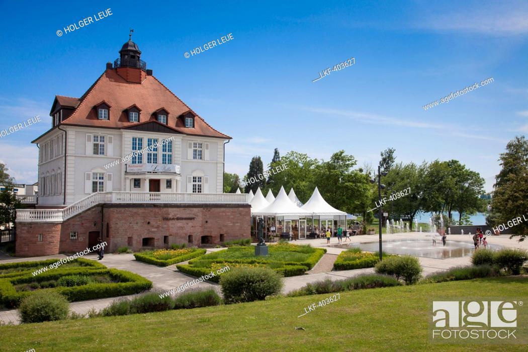 Villa Schmidt restaurant inside of villa schmidt with kehl baden
