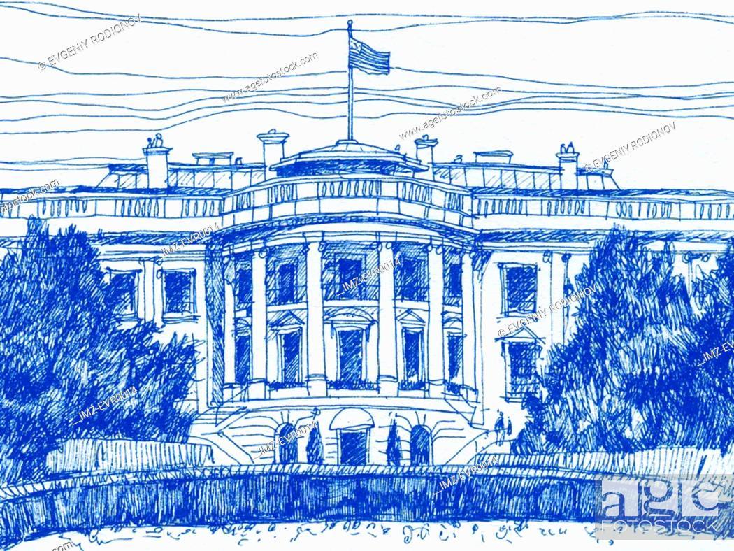 Stock Photo: The Whitehouse.