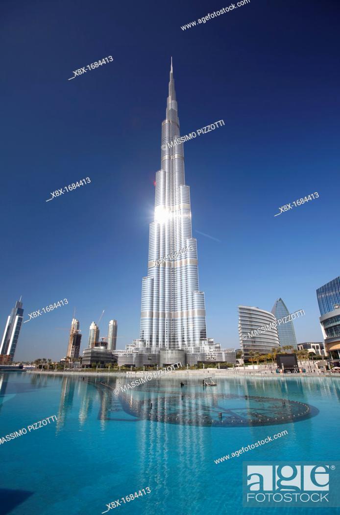 Imagen: Burj Khalifa, Dubai, United Arab Emirates  UAE.