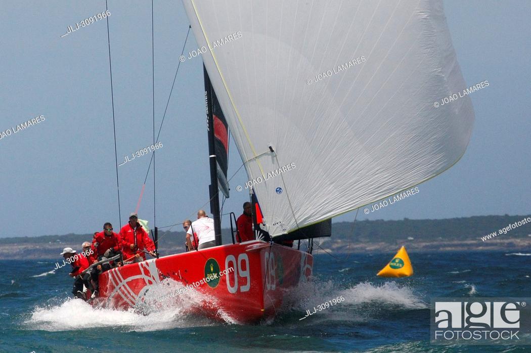 Stock Photo: Provezza, #09, Owner: Ergin Imre, Sail nr: TUR1212, Yacht Club TAYK - Istambul, Builder: Persico; Rolex TP 52 World Championship, TP52 Super Serires, Cascais.