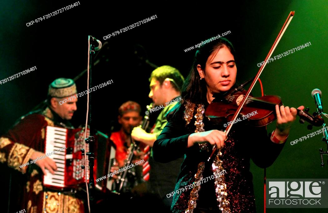 Tajiks music band Alaev Family appeared in Prague during the Respect
