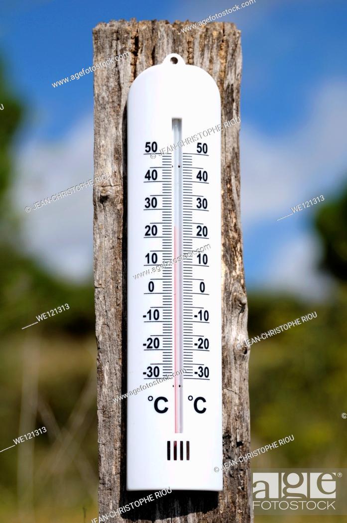 Photo de stock: Temperature, Celsius.