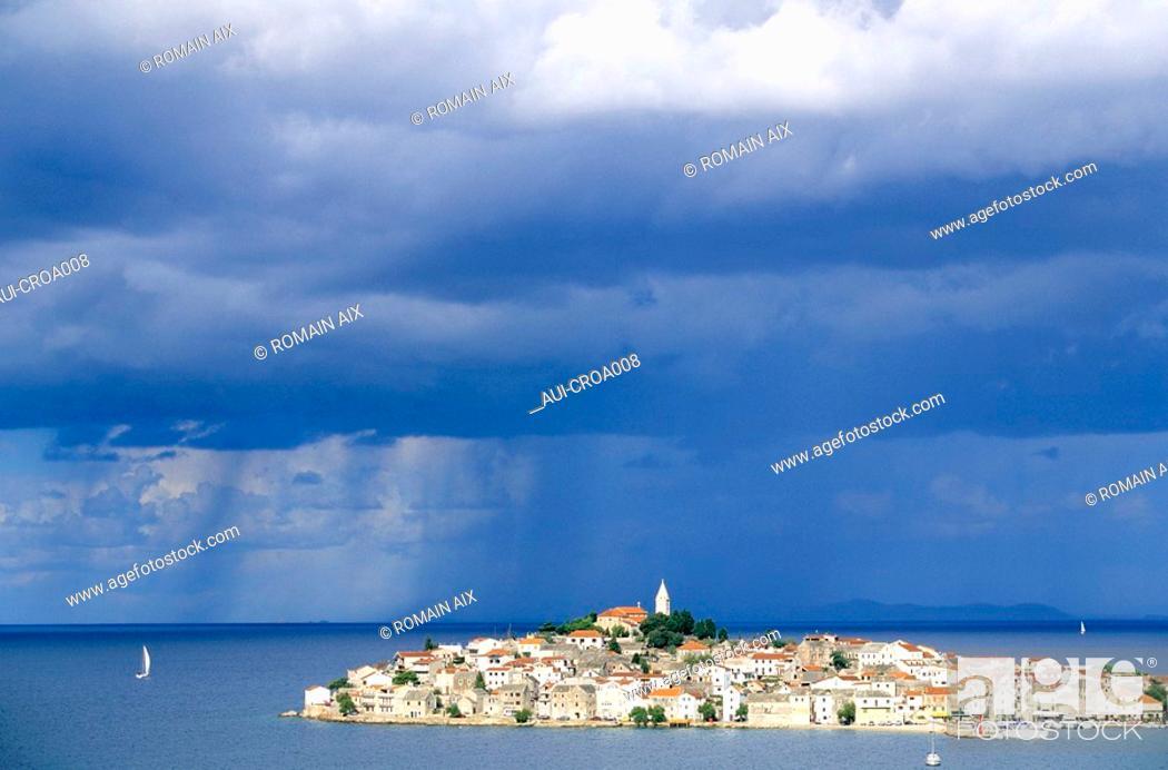 Stock Photo: Croatia - Primosten.