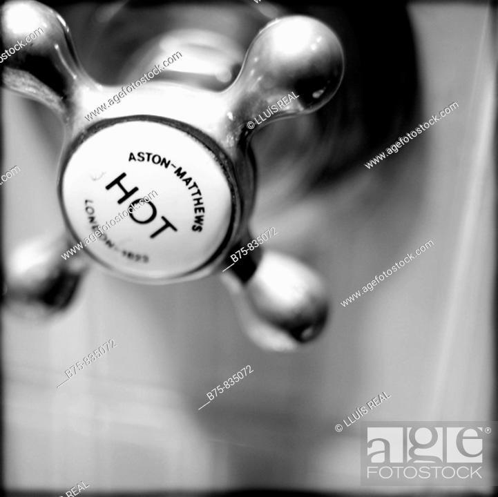 Stock Photo: Hot water.