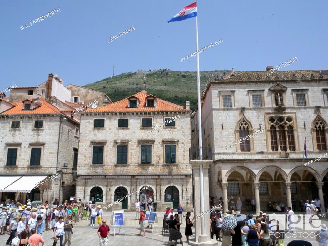 Stock Photo: Dubrovnik, Croatia.