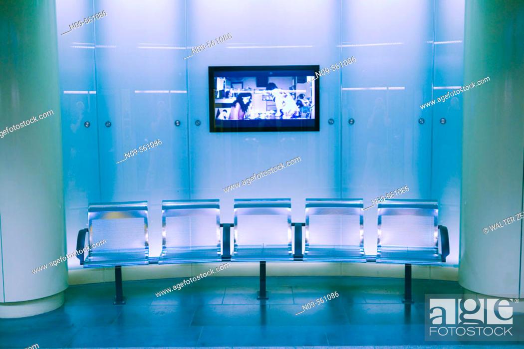 Stock Photo: Subway, Turin. Piedmont, Italy.
