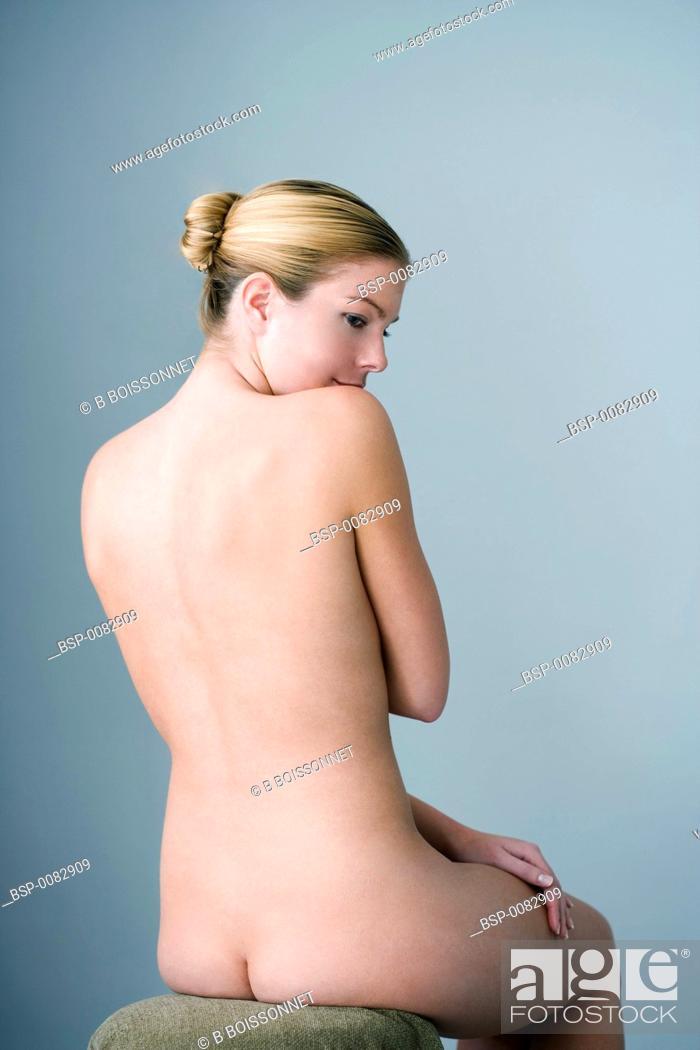 Stock Photo: NUDE WOMAN Model.