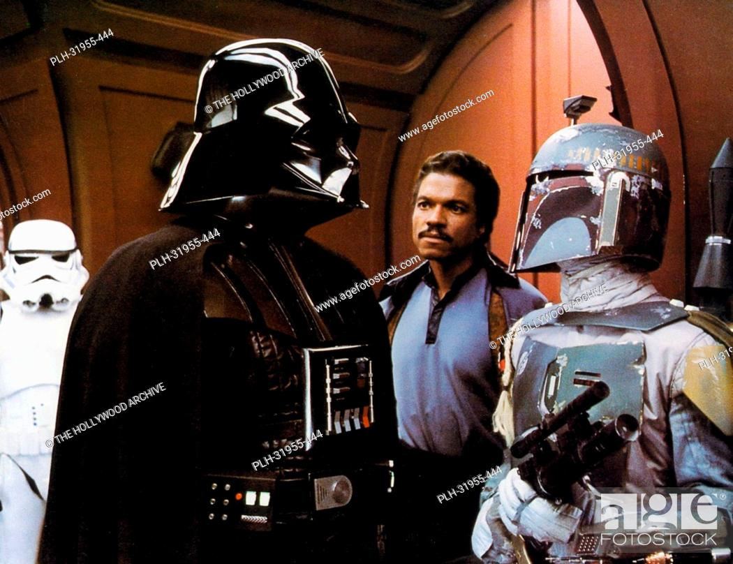 Stock Photo: Film: The Empire Strikes Back (1980) with Boba Fett. B7W6HH WARNING: This photograph can only be reproduced by publications in conjunction with the promotion of.