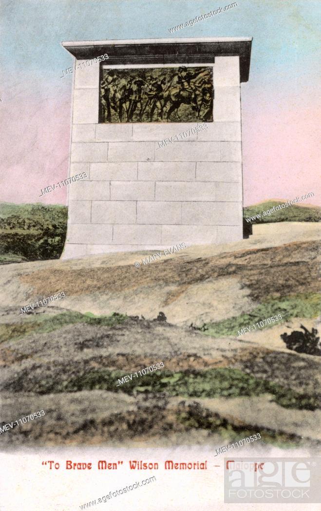 Stock Photo: Wilson Memorial, Matoppo (Matopo, Matobo, Matopos Hills), Rhodesia (now Zimbabwe), commemorating the loss of Major Allan Wilson and his Shangani Patrol in the.