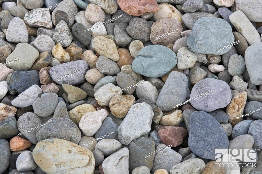 Stock Photo: Pebble, Rock, Smooth, Stone, Abundance.