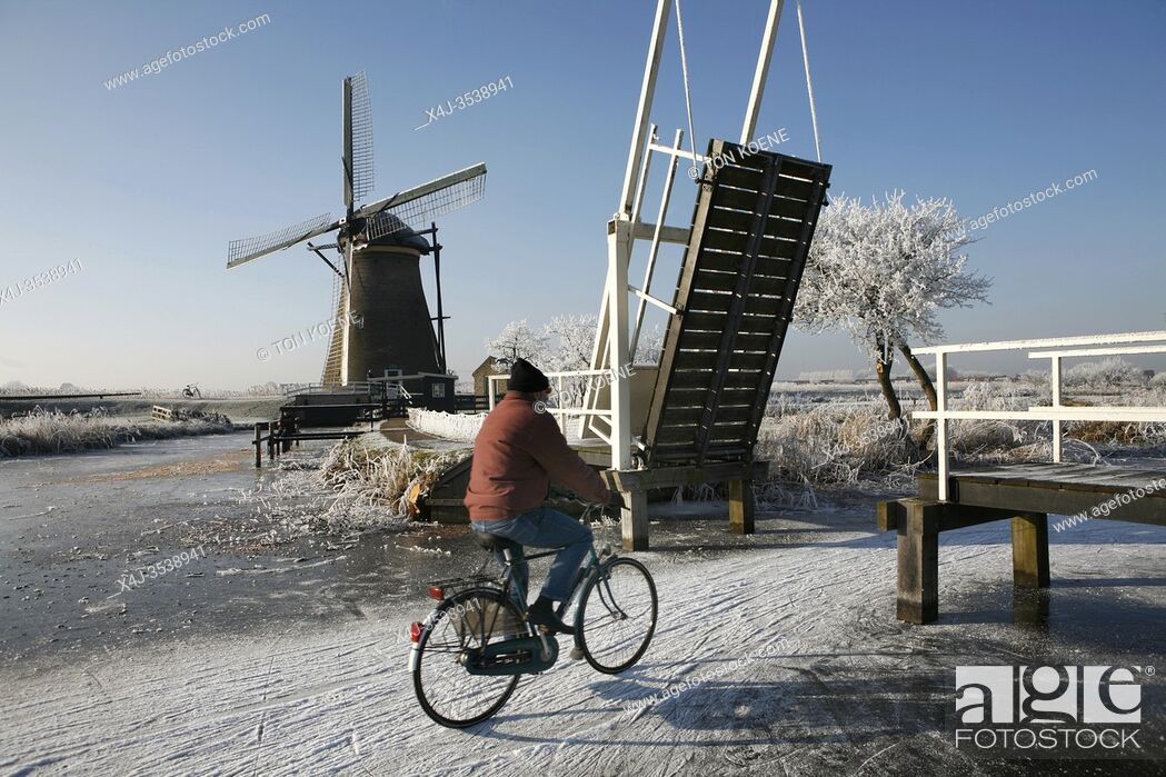 Photo de stock: Mobility in Holland.