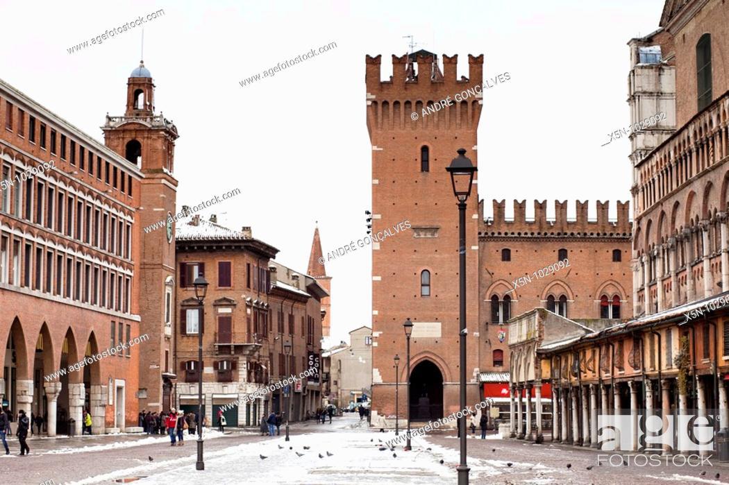 Stock Photo: Ferrara, Italy.