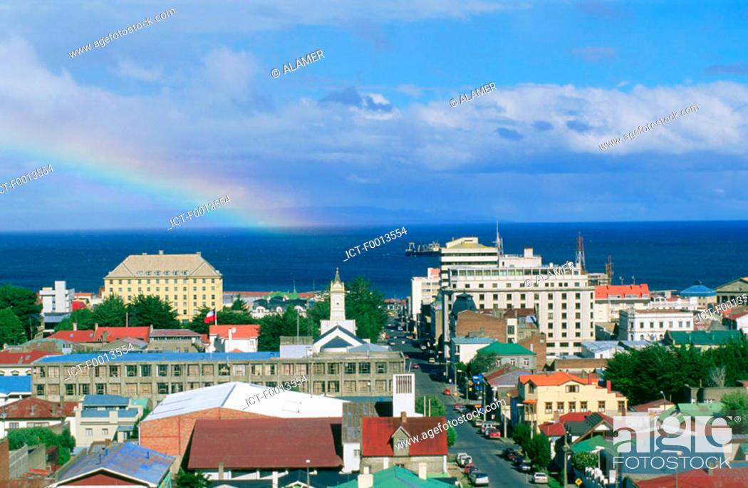 Stock Photo: Chile, Tierra del Fuego, Punta Arenas.