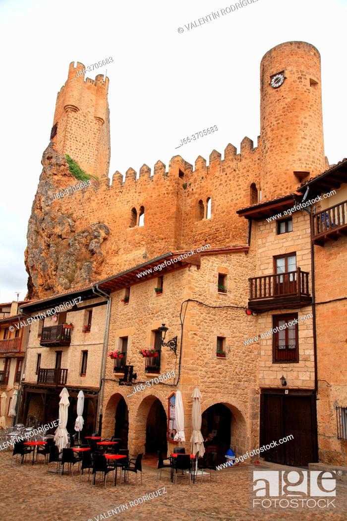 Imagen: Castle of Frías. Burgos.