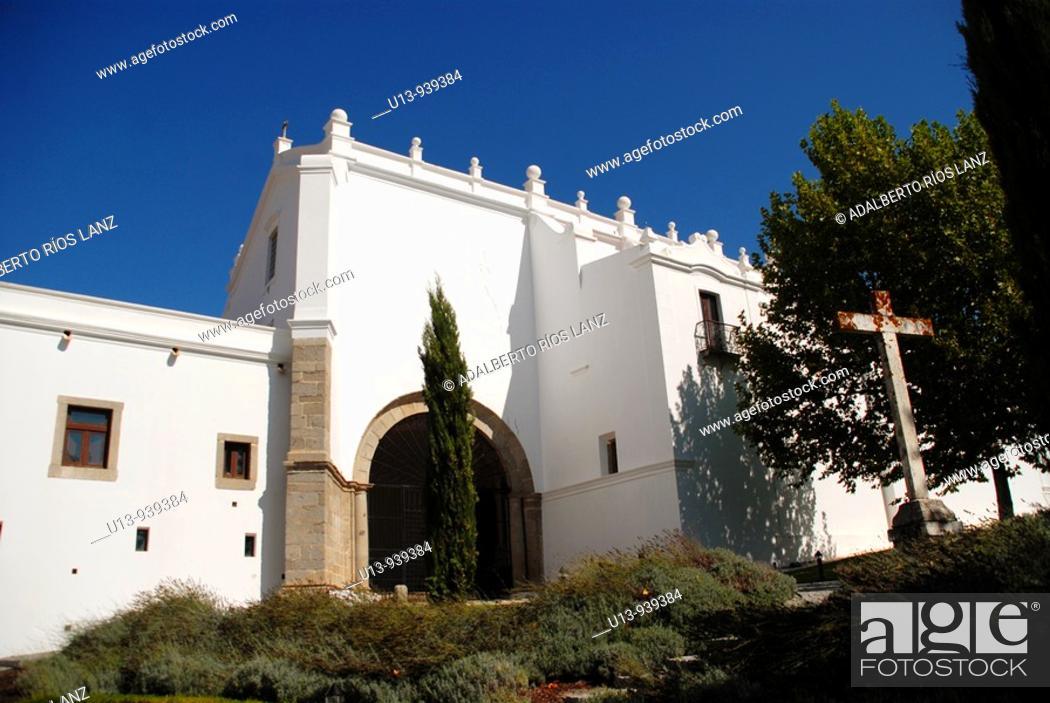 Stock Photo: Convento do Espinheiro, Evora, Alentejo, Portugal, Europe.