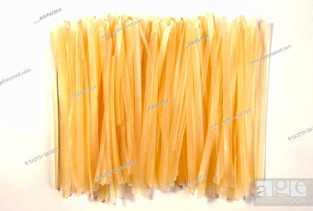 Stock Photo: Pasta - Rice Vermicelli.