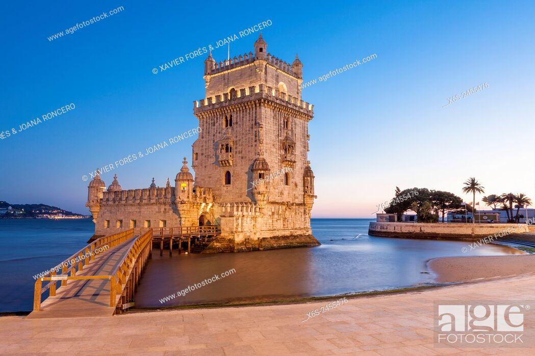 Imagen: Torre de Belem - Belem tower -, Lisboa, Portugal.