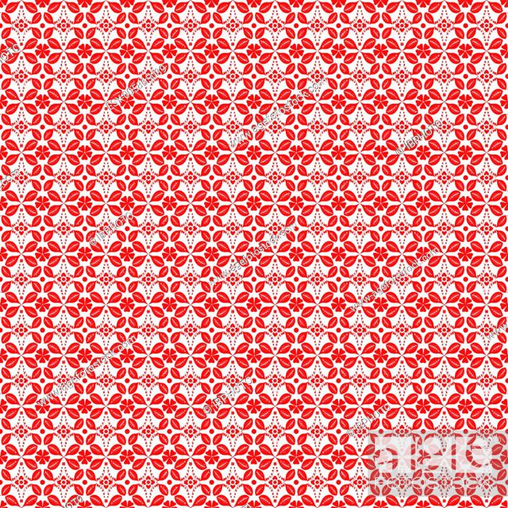 Stock Vector: Seamless Floral Pattern.