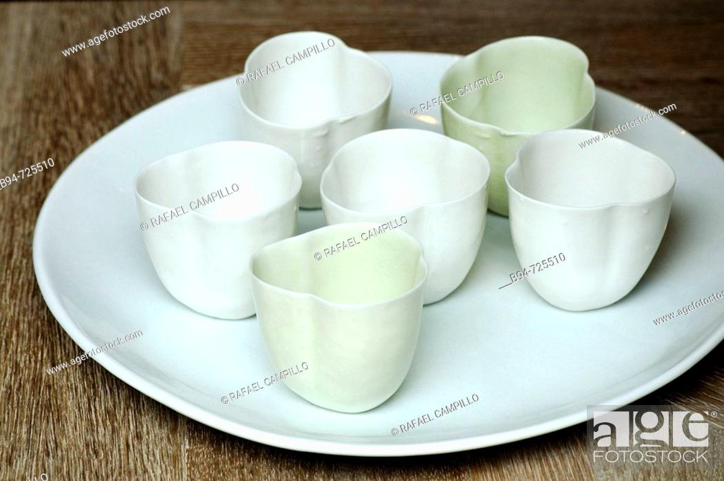 Stock Photo: Cups.