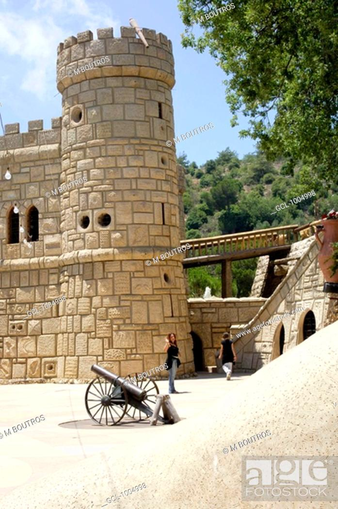 Stock Photo: Moses' Castle Qasr Moussa, Lebanon.