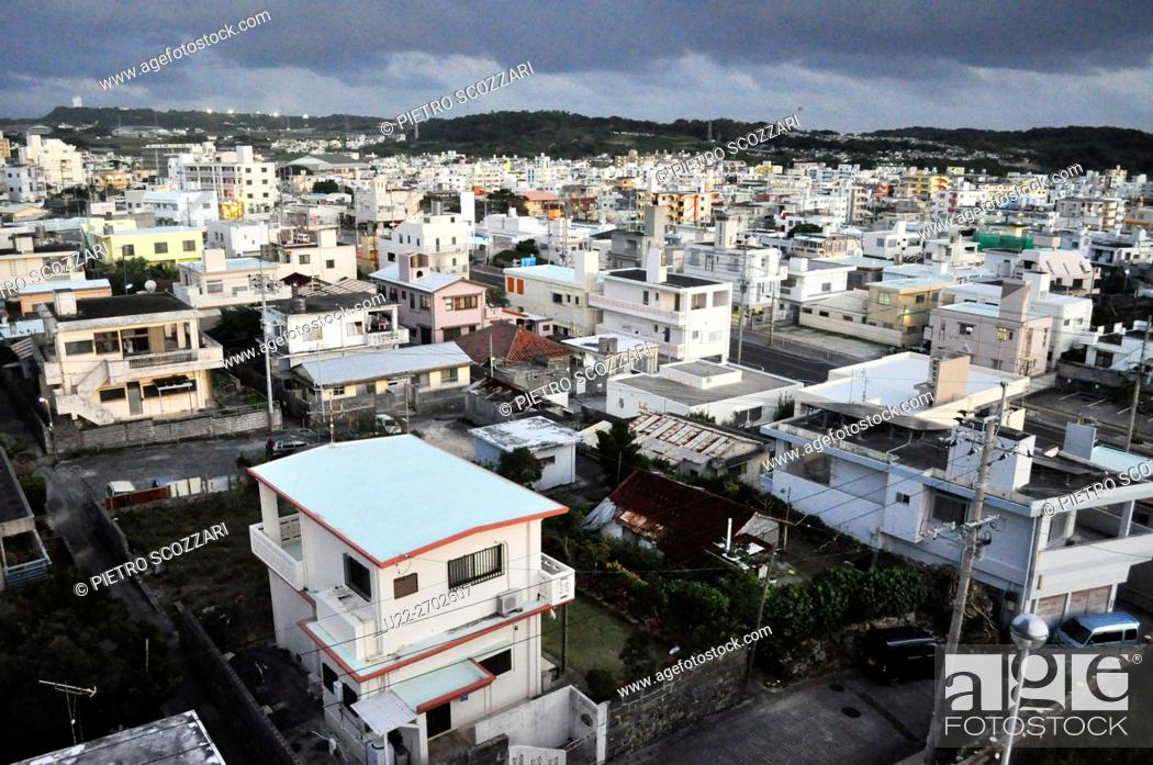 Stock Photo: Itoman, Okinawa, Japan.