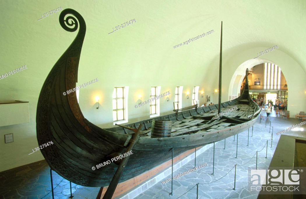 Stock Photo: Vikingskipshuset (Viking Ship Museum) in Oslo. Norway.