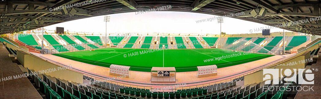 Imagen: Dhyanchand hockey stadium, delhi, india, asia.
