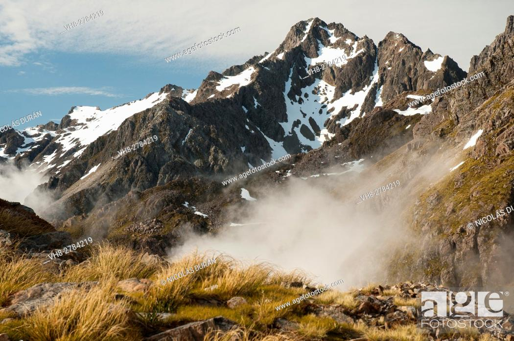 Photo de stock: Nelson Lakes National Park, New Zealand.
