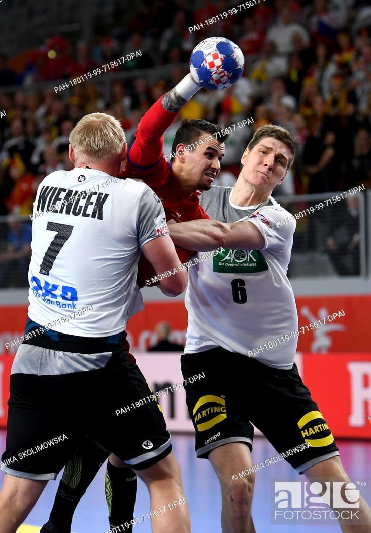 Germany S Patrick Wiencek L And Finn Lemke In Action