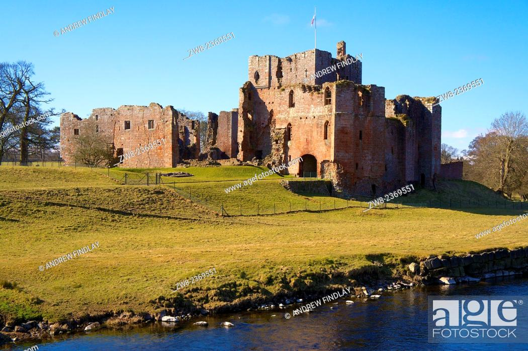 Stock Photo: Brougham Castle near Penrith, Cumbria, England, UK.