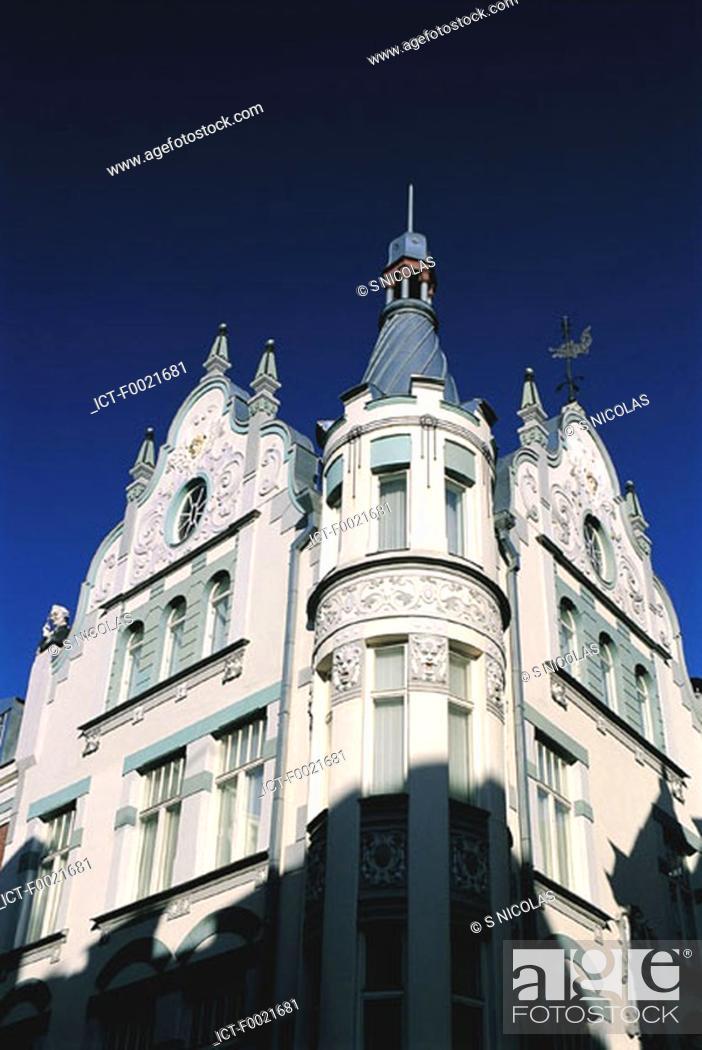 Stock Photo: Estonia, Tallinn, Old Town.