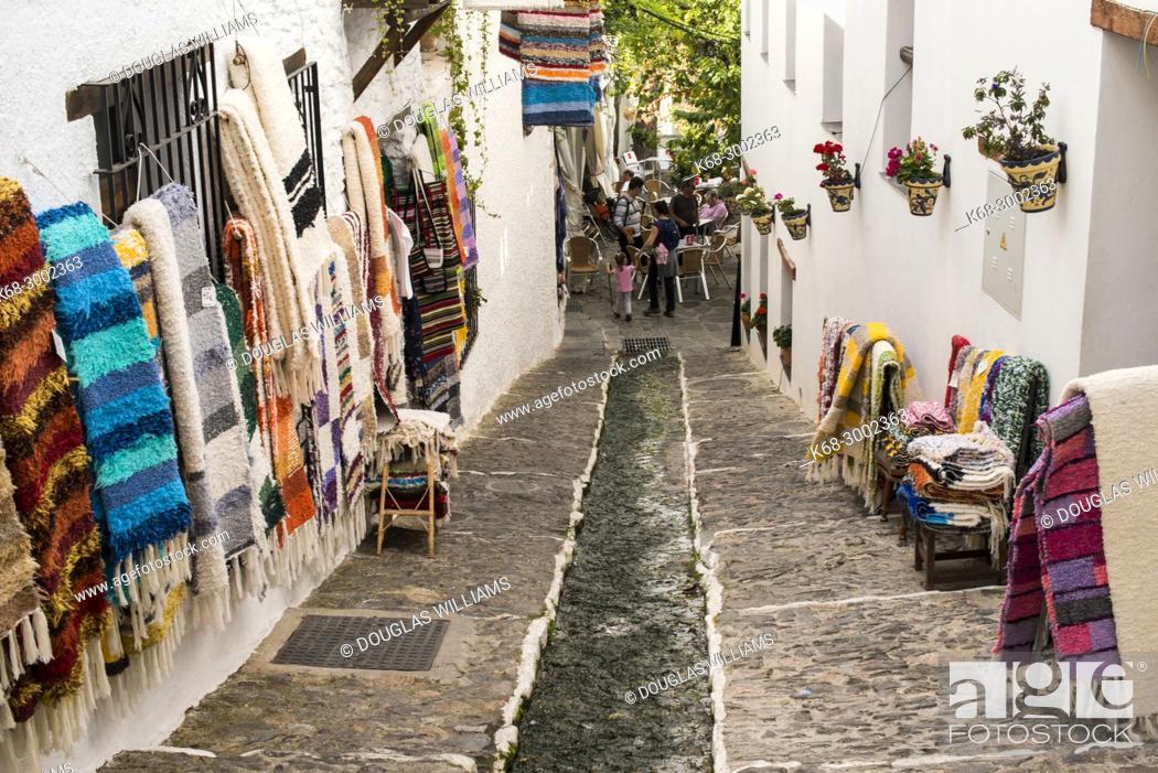 Stock Photo: Pampaneira, Alpujarras, Spain.