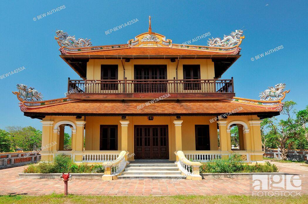 Imagen: Vietnam, Hue, The Purple Forbidden City, Imperial City, Hue, Vietnam.