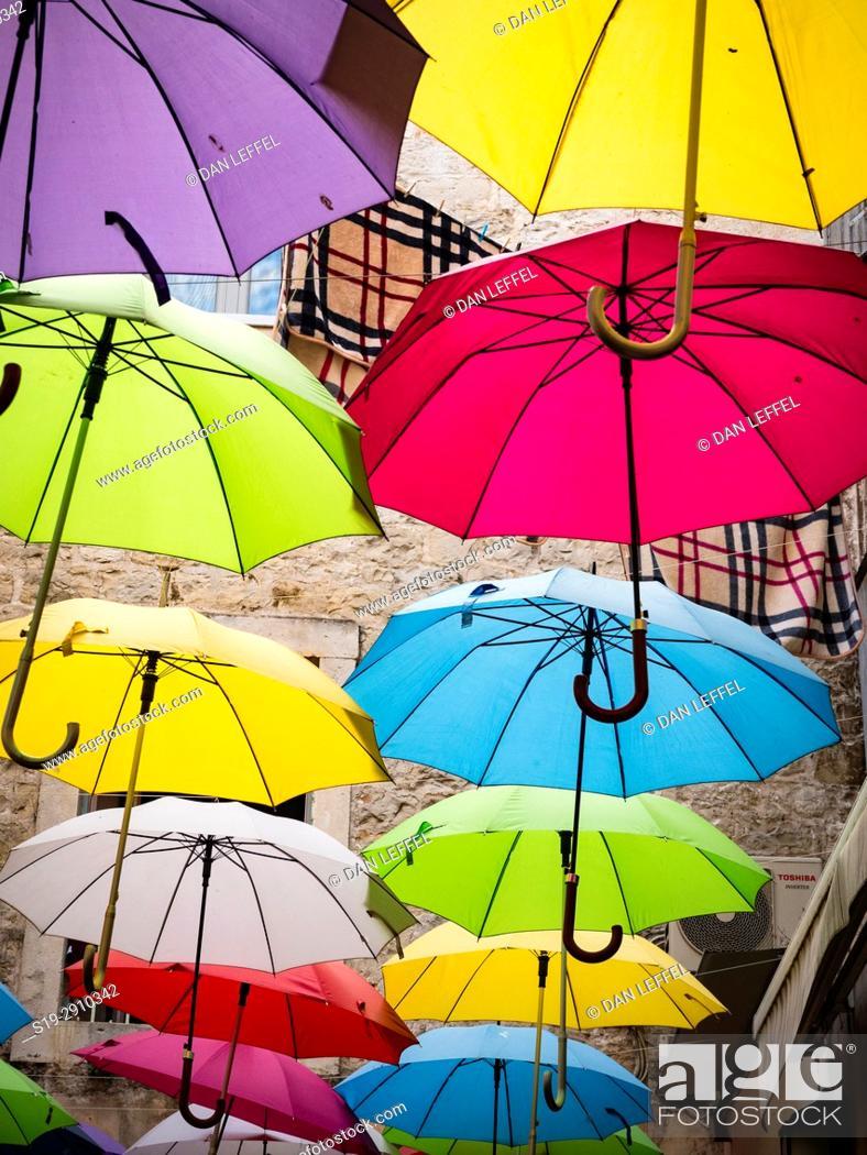 Imagen: Split Croatia Market Old Town.