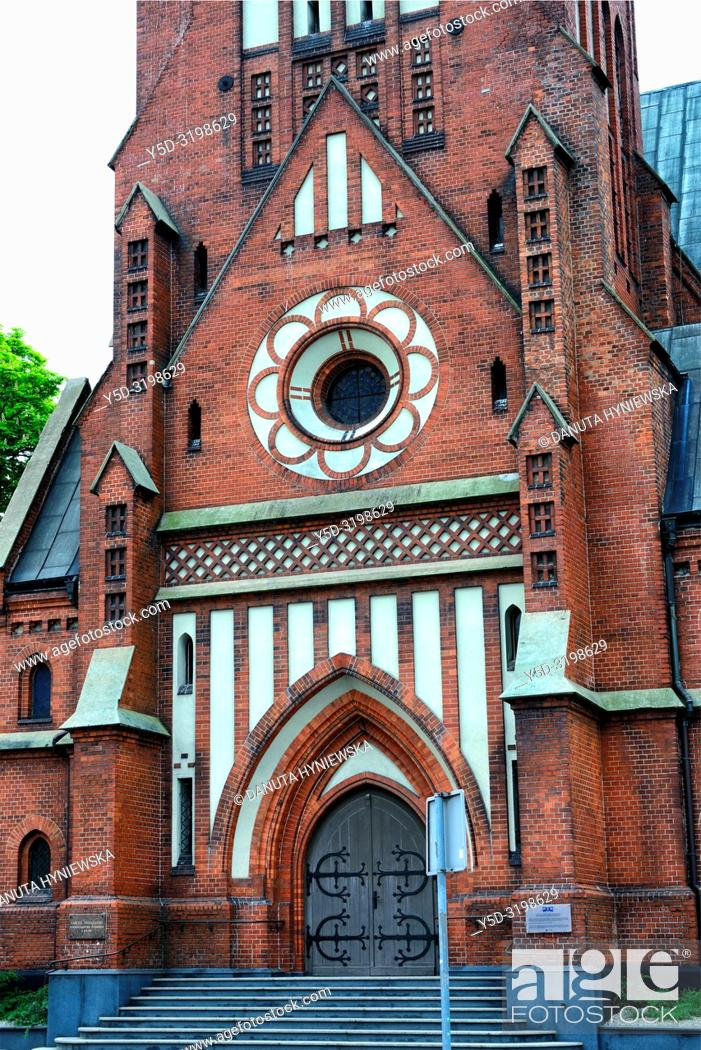 Imagen: Lutheran Church of our Lord's Ascension, Evangelical Church of Augsburg Confession, its style resembles North German architecture, architect August Allert.
