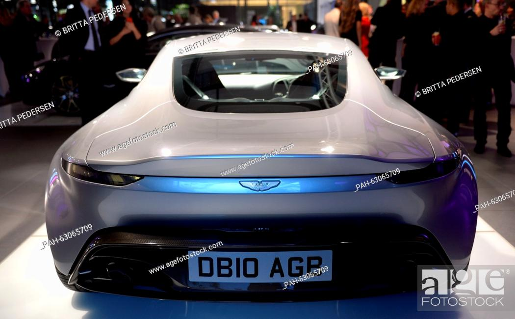 An Aston Martin Db9 Gt Bond Edition Car Is Shown In A Car Dealership In Berlin Germany Stock Photo Picture And Rights Managed Image Pic Pah 63065709 Agefotostock