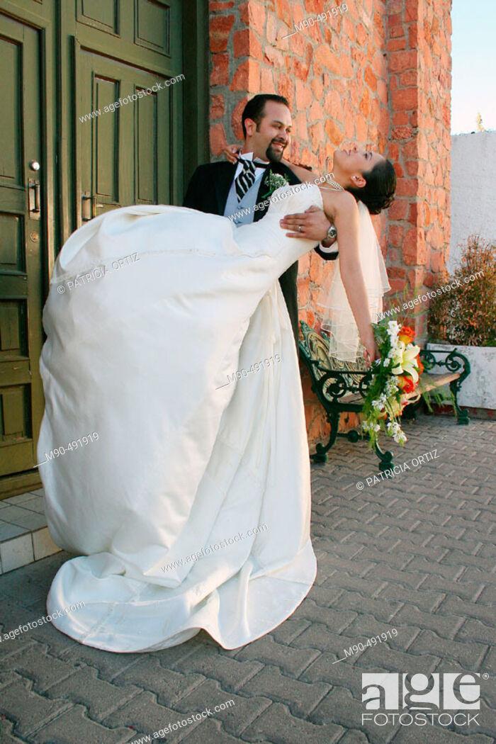 Stock Photo: Wedding. Chihuahua, Mexico.