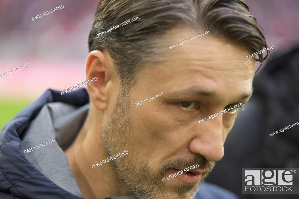 coach Niko Kovac (FCB) before the start of the match GES