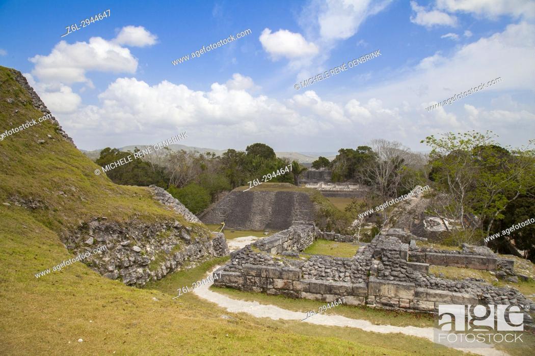 Stock Photo: Xunantunich Mayan ruins in Belize.