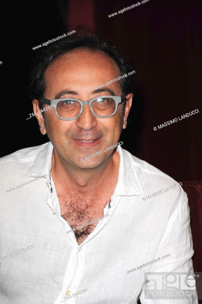 Imagen: Giovanni Esposito; esposito; actor; celebrities; 2015; rome; italy; event; presentation theater season ; teatro Ambra Jovinelli.