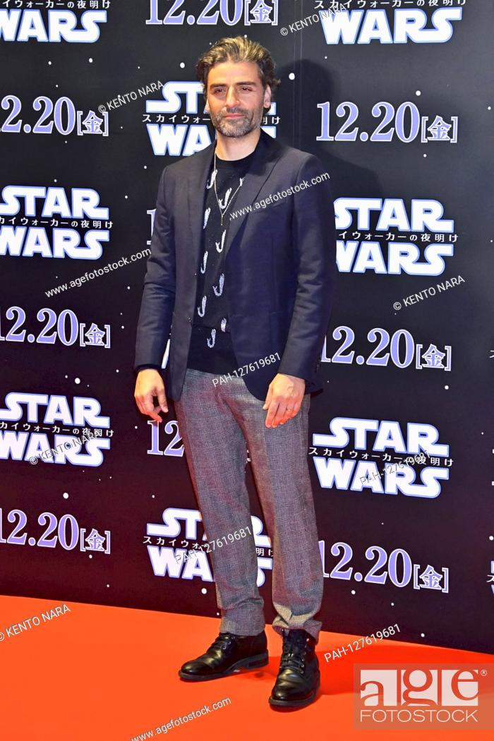 Stock Photo: Oscar Isaac at the premiere of the movie 'Star Wars: Episode IX - The Rise of Skywalker / Star Wars: Episode IX - The Rise of Skywalkers' in Roppongi Hills.