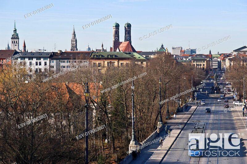 Stock Photo: Typisch München.