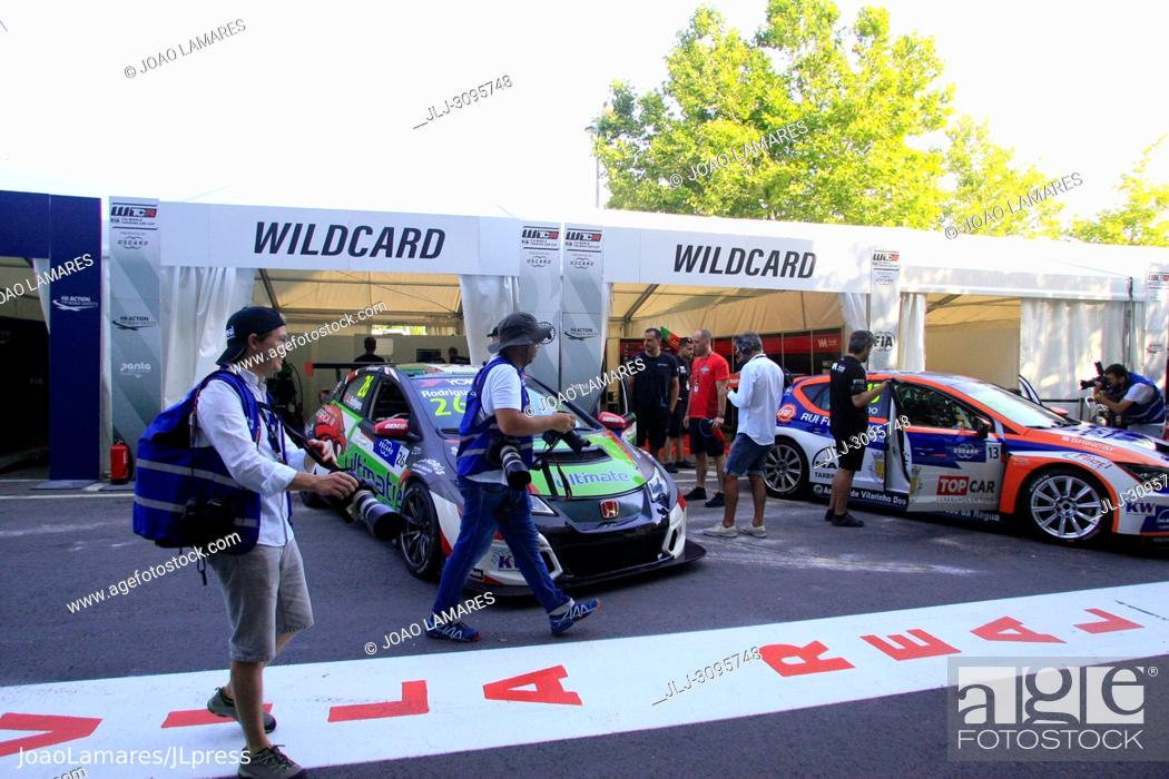 Stock Photo: Pit Lane, WTCR Race of Portugal, Vila Real 23-25 de June 2018.