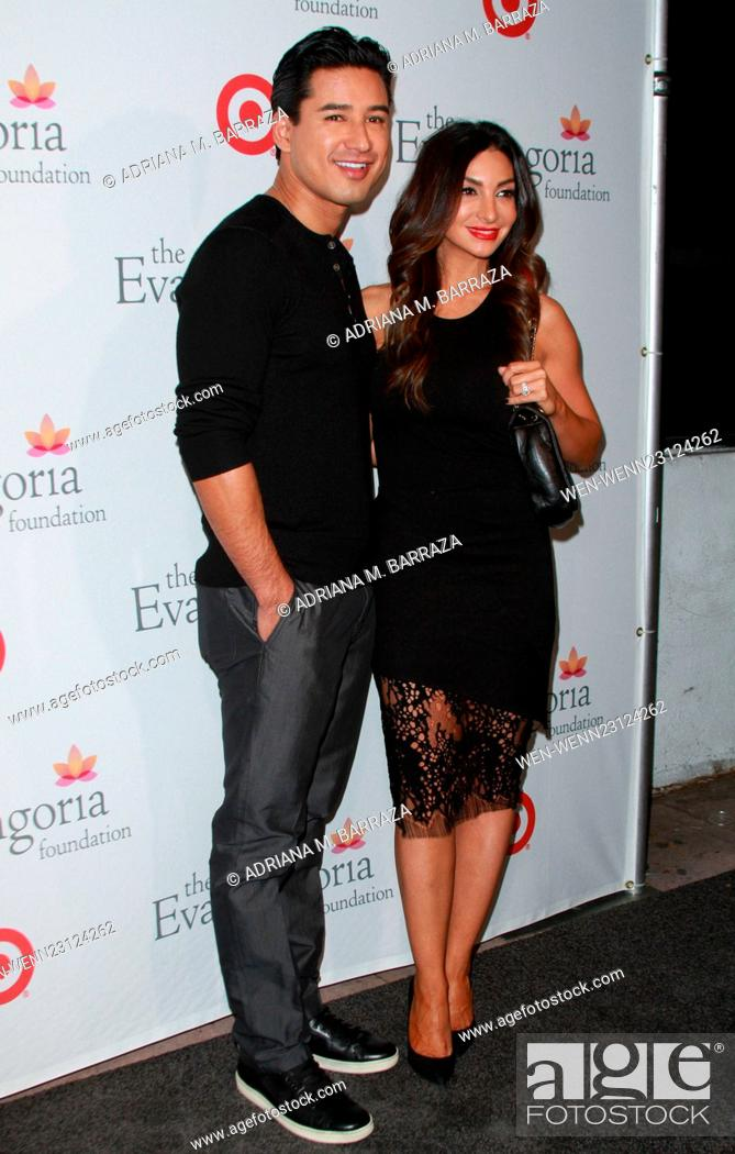 Eva Longoria Foundation Dinner Held At Her Restaurant Beso In Hollywood Featuring Mario Lopez Stock Photo Picture And Rights Managed Image Pic Wen Wenn23124262 Agefotostock