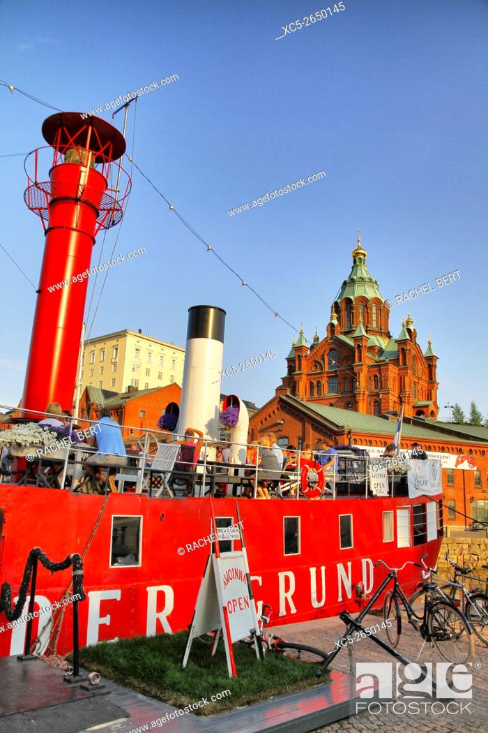Stock Photo: Uspensky cathedral, Helsinki, Finland.