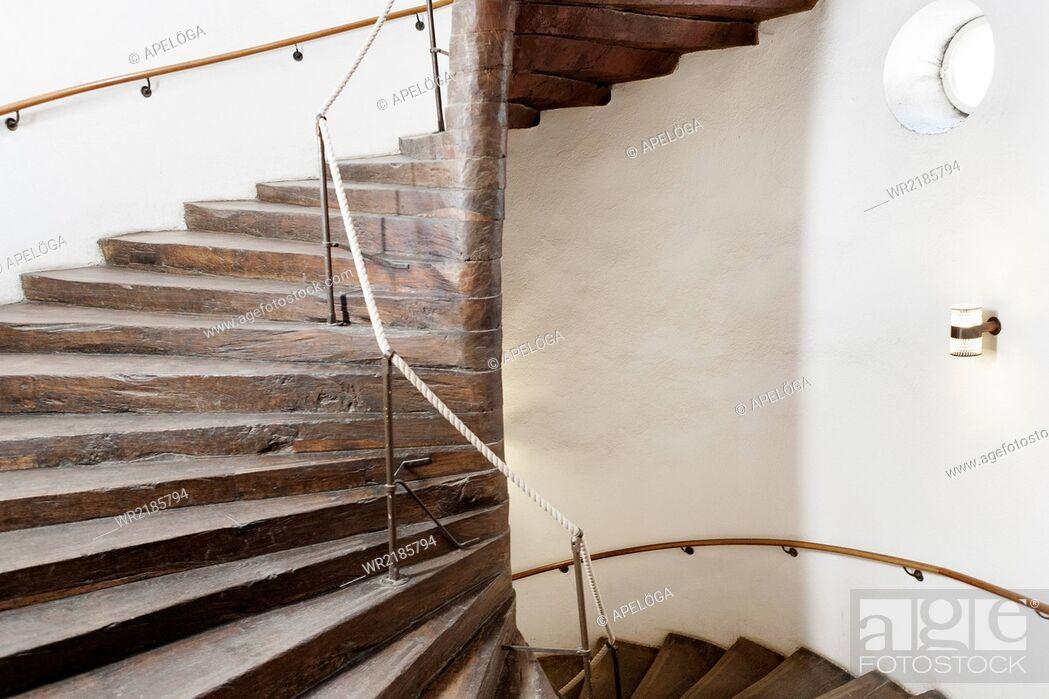 Stock Photo: Stairway in university.